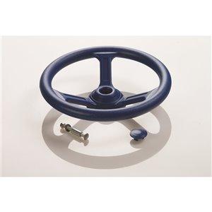 Creative Cedar Designs Steering Wheel for exterior playset - 12-in - Blue