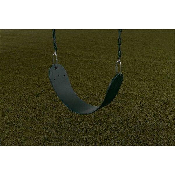 Creative Cedar Designs Standard Swing Seat - Green - 26-in
