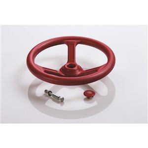 Creative Cedar Designs Steering Wheel for exterior playset - 12-in - Red