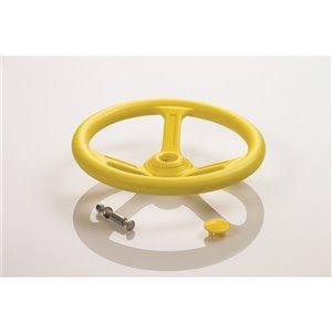 Creative Cedar Designs Steering Wheel for exterior playset - 12-in - Yellow