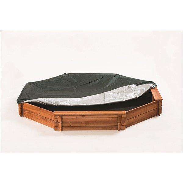 Creative Cedar Designs Octagon Sandbox - Wood
