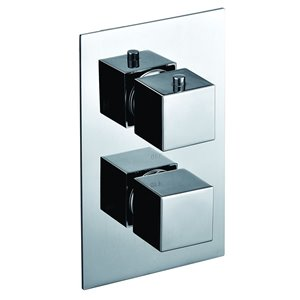 ALFI Brand Thermostatic Mixing Shower Valve - Polished Chrome