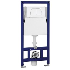 EAGO Toilet Tank for Wall Mounted Toilet - Porcelain
