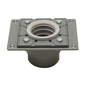 ALFI Brand Linear Shower Drain - PVC - 5.63-in - Grey