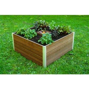 Jardin de compostage à trou de serrure URBANA de Vita, 4 pi x 4 pi