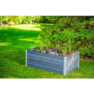 New England Arbors URBANA Keyhole Garden - 3-ft x 5-ft