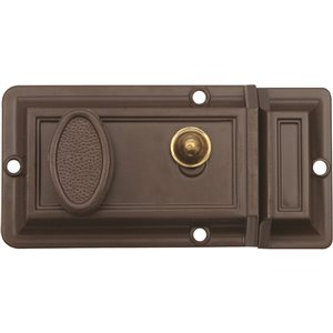 Verrou de sécurité de Forge Locks, bronze huilé
