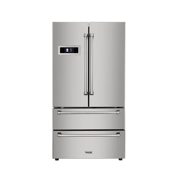 Thor Kitchen French Door Refrigerator - Stainless Steel