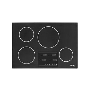 Thor Kitchen Induction Cooktop with Japanese Glass - 30-in