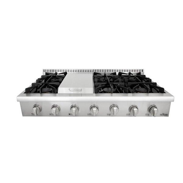 Thor Kitchen Gas Range Top with Griddle - 6 Burner - 48-in