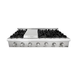 Thor Kitchen Gas Range Top with Griddle - 6 Burner - 48-in