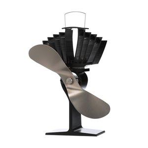 Ventilateur de poêle à bois Ecofan AirMax, nickel