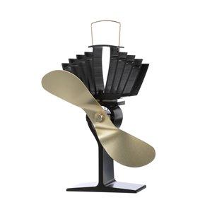 Ecofan AirMax Wood Stove Fan - Gold
