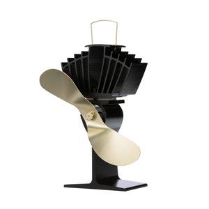 Ventilateur de poêle à bois Ecofan AirMax, or