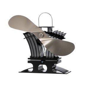 Ecofan BelAir Wood Stove Fan - Nickel