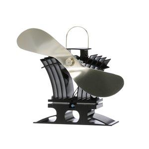 Ventilateur de poêle à bois Ecofan BelAir, or