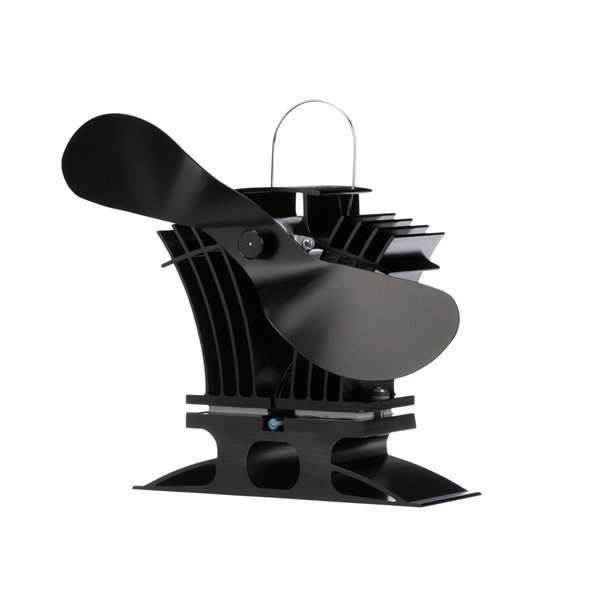 Ecofan BelAir Wood Stove Fan - Black