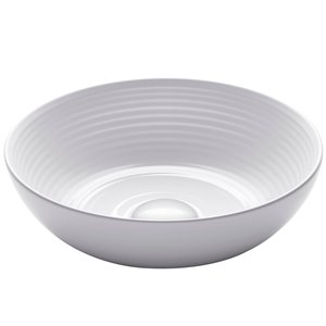 Kraus Viva Round Vessel Bathroom Sink - 13-in - White