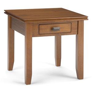 Table d'appoint Artisan SIMPLI HOME, brun miel