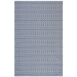 Tapis rectangulaire Augustine de Safavieh, 4 pi x 6 pi, bleu marine/gris clair