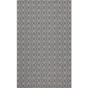 Tapis rectangulaire Augustine de Safavieh, 4 pi x 6 pi, noir/gris clair
