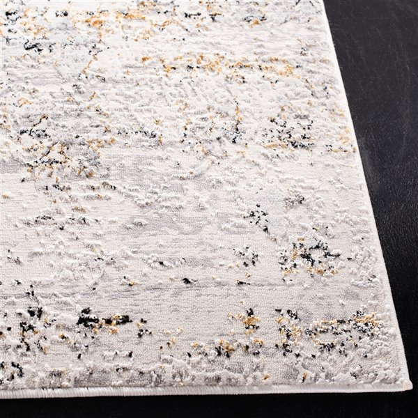 Tapis rectangulaire Amalfi de Safavieh, 3 pi x 5 pi, crème/or