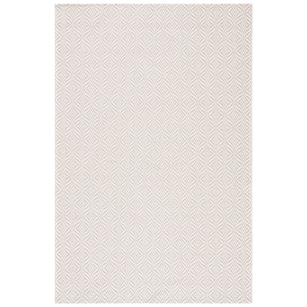 Tapis rectangulaire Augustine de Safavieh, 2 pi 10 po x 5 pi, taupe/crème
