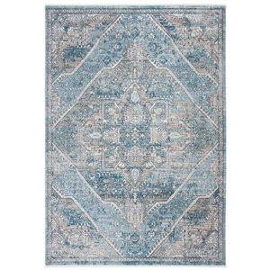 Safavieh Victoria Area Rug - 8-ft x 10-ft - Rectangular - Blue/Gray