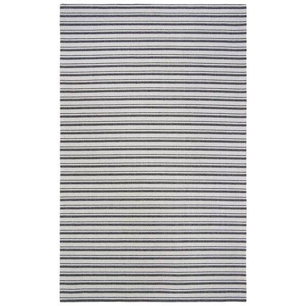 Safavieh Augustine Area Rug - 7-ft 7-in x 10-ft - Rectangular - Black/Light Gray
