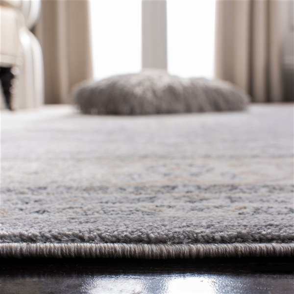 Safavieh Isabella Area Rug - 3-ft x 5-ft - Rectangular - Gray/Cream