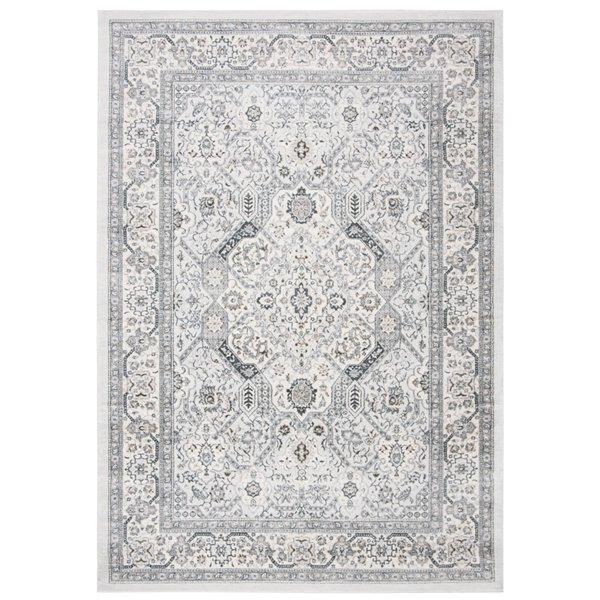 Safavieh Isabella Area Rug - 8-ft x 10-ft - Rectangular - Gray/Cream