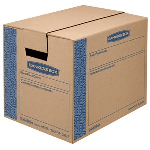 Fellowes Canada SmoothMove Prime Small Moving Boxes - 10 Pack