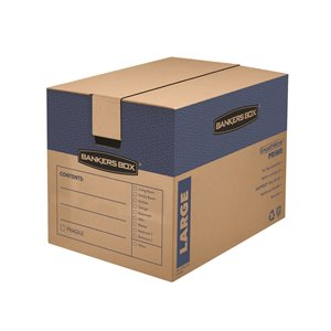 Fellowes Canada SmoothMove Prime Large Moving Boxes - 6 Pack