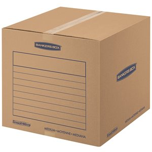 Fellowes Canada SmoothMove Medium Moving Boxes - 10 Pack