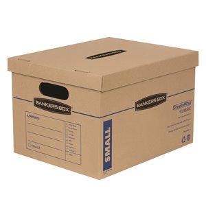 Boîtes de déménagement petites SmoothMove de Fellowes Canada - 10 pqt