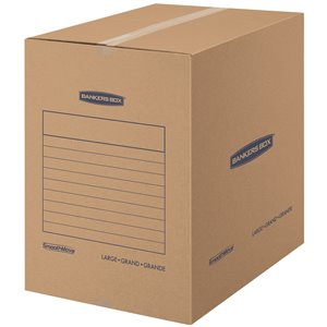 Fellowes Canada SmoothMove Medium Moving Boxes - 7 Pack