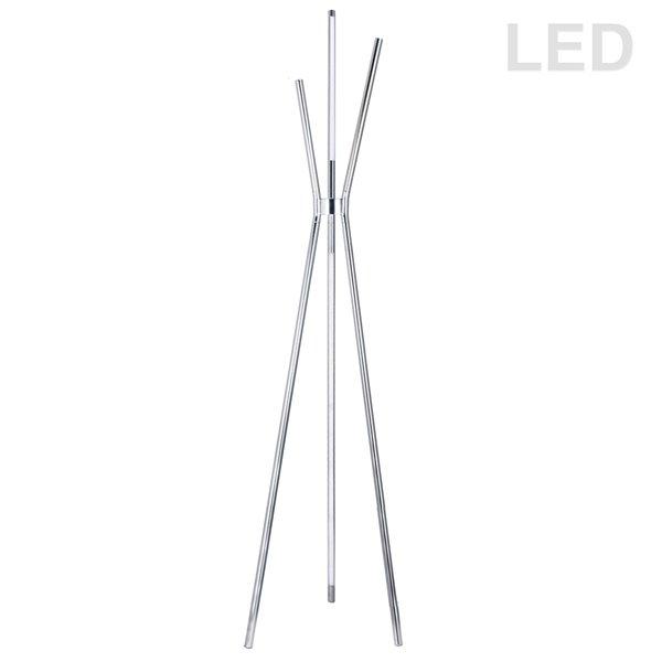 Dainolite Cerena Floor Lamp - 4-Light - 60-in - Polished Chrome