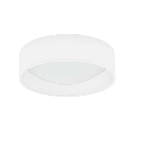 Dainolite Flush Mount Light - 1-LED Light - 11-in x 3-in - Cream