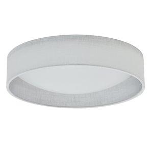 Plafonnier de Dainolite, 1 lumière DEL, 15 po x 3 po, blanc