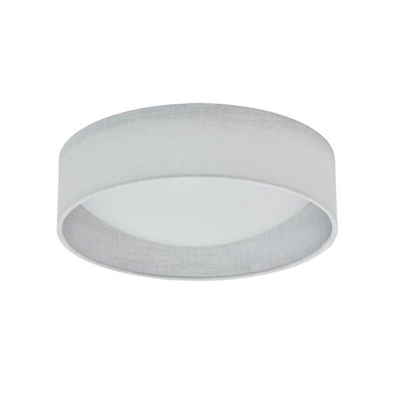 Dainolite Flush Mount Light - 1-LED Light - 11-in x 3-in - White