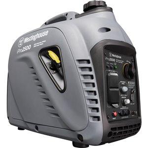 Génératrice à onduleur portative Inverter Westinghouse iPro2500 Pro Series, essence