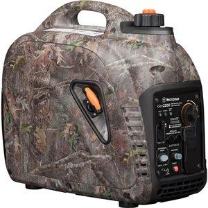 Génératrice à onduleur portable Westinghouse iGen2200 Camo, essence