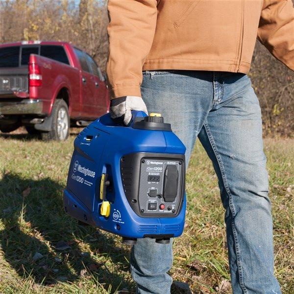 Génératrice à onduleur portable Westinghouse Inverter iGen1200, essence