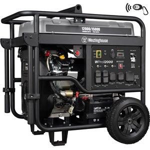 Génératrice portative Westinghouse WPro12000 Pro Series à essence