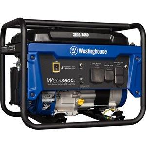 Génératrice portative Westinghouse WGen3600v