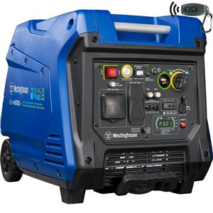 Westinghouse iGen4500DF Dual Fuel Portable Inverter Generator - Gas / Propane