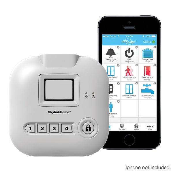 Système d'alarme sans fil connecté Skylink SK-200, système tout-en-un