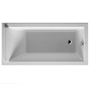 Duravit Starck Bathtub - White -  59-in x 27 1/2-in