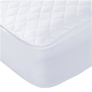 Millano Collection SilverClear Waterproof Mattress Protector - 92-in x 82-in - White