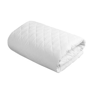 Couvre-matelas Everyday de Millano Collection, 80 po x 78 po, blanc